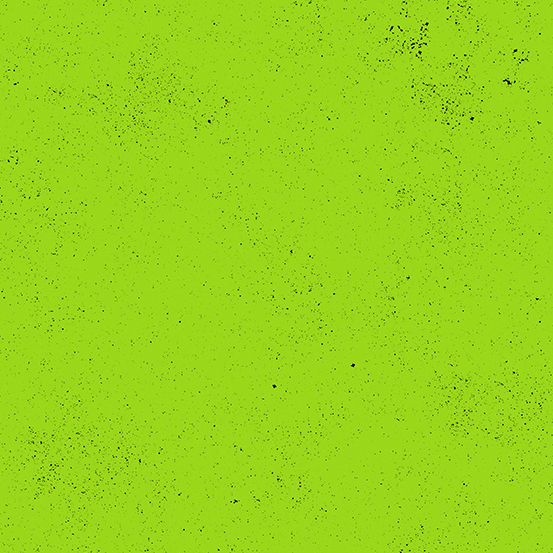 Spectrastatic Neon Green Speckle Blender Giucy Giuce Cotton Fabric