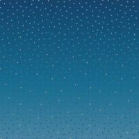 Riley Blake Designs Gem Stones Midnight Blue Geometric Ombre Confetti Ombre Selvedge Border Cotton Fabric for Dressmaking