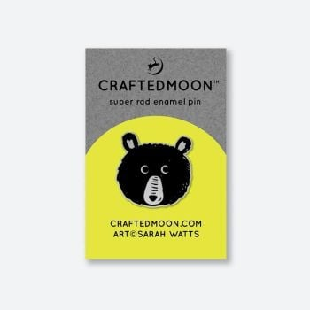 IN STOCK Crafted Moon Teddy Enamel Pin Sarah Watts Teddy and the Bears