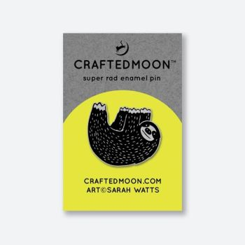 IN STOCK Crafted Moon Mister Sloth Enamel Pin Sarah Watts Honeymoon