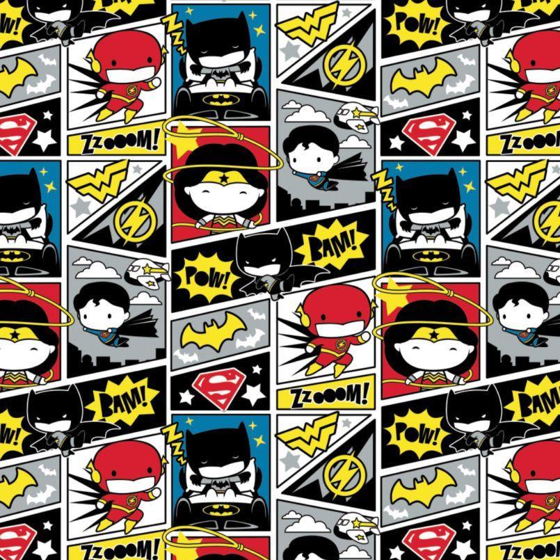 DC Superheroes In the Making Comic Blocks Kawaii Justice League Superhero C