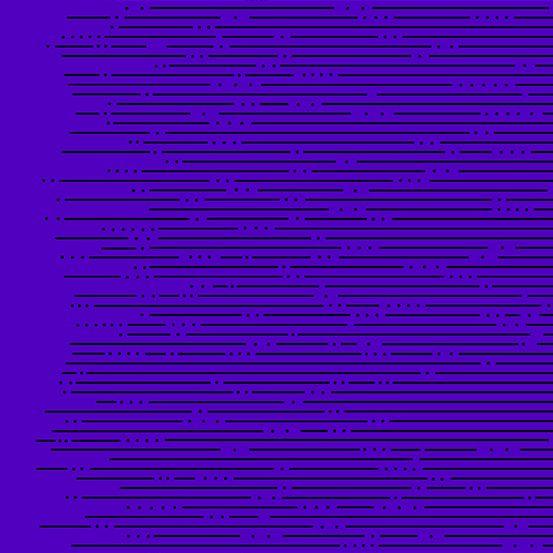 Declassified Hyperbolic Ultraviolet Blue Linear Geometric Lines Blender Giu