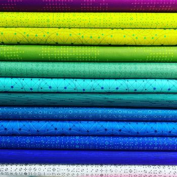 Giucy Giuce Declassified 12 Fat Quarter Bundle Cotton Fabric Cloth Stack