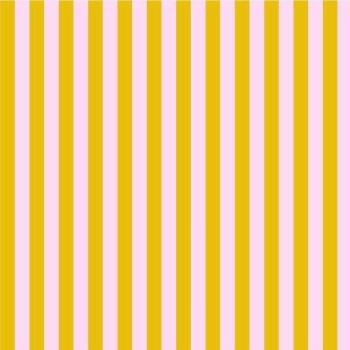 Tula Pink True Colors Stripes Marigold Tent Stripe Geometric Blender Cotton Fabric