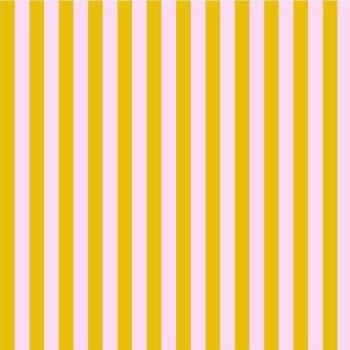 Tula Pink All Stars Stripes Marigold Tent Stripe Geometric Blender Cotton Fabric