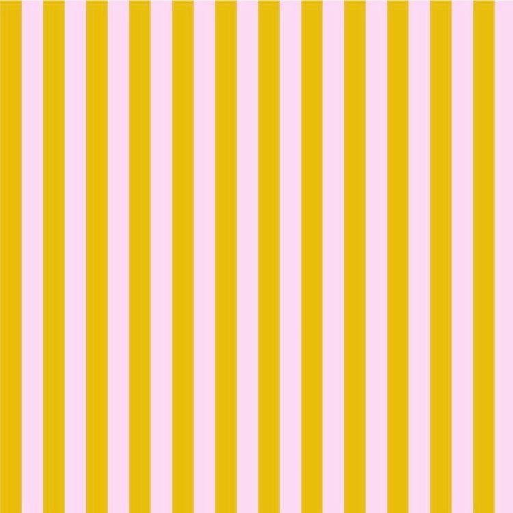 Tula Pink All Stars Stripes Marigold Tent Stripe Geometric Blender Cotton F