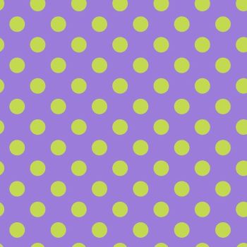 Tula Pink All Stars Pom Poms Orchid Spot Polkadot Geometric Blender Cotton Fabric