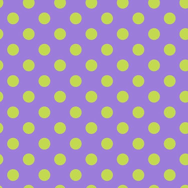 Tula Pink All Stars Pom Poms Orchid Spot Polkadot Geometric Blender Cotton
