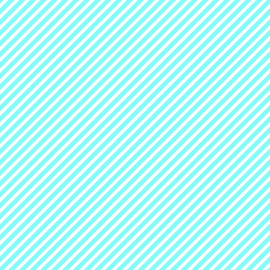 EXCLUSIVE Sweet Shoppe Candy Stripe Aqua and White Bias Stripes Pinstripe Q