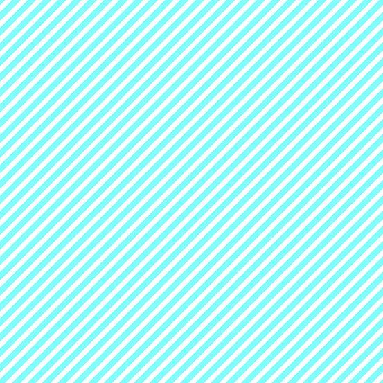 EXCLUSIVE Sweet Shoppe Candy Stripe Aqua And White Bias