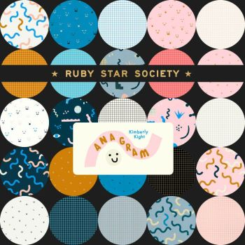 Anagram Ruby Star Society Kimberly Kight 25 Full Collection Fat Quarter Bundle Cotton Fabric Cloth Stack
