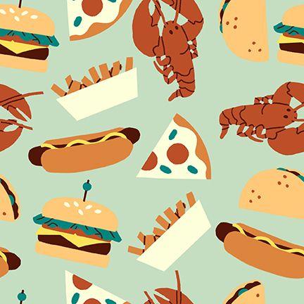 Fast Food Mint Hotdogs Pizza Burger Fries Lobster Food Trucks Jeannie Phan
