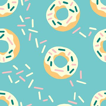 Donut Blue Donuts Sprinkle Doughnut Food Trucks Jeannie Phan Snack Cotton F