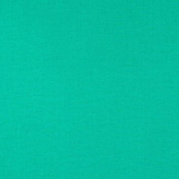 Tula Pink Designer Solids Aegean Green Plain Blender Coordinate Cotton Fabric
