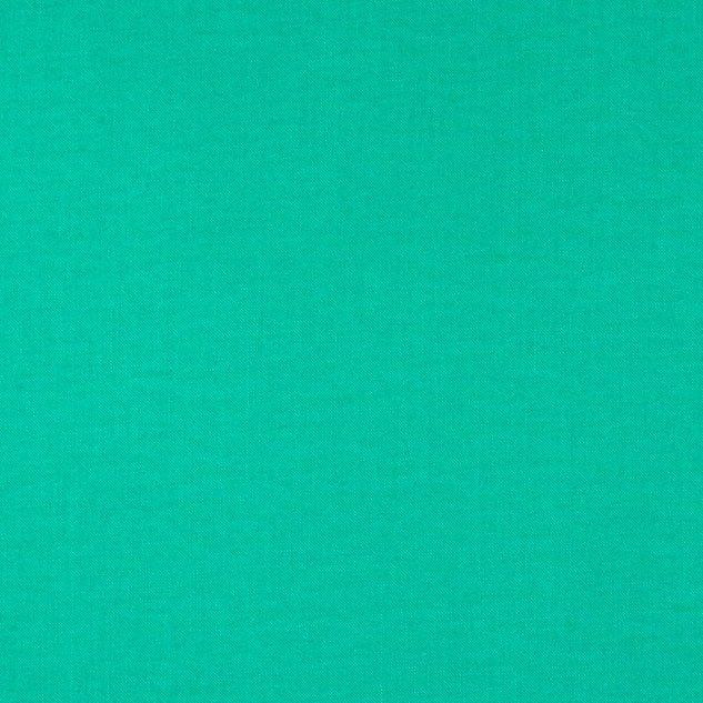 Tula Pink Designer Solids Aegean Green Plain Blender Coordinate Cotton Fabr