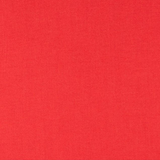 Tula Pink Designer Solids Cajun Coral Red Plain Blender Coordinate Cotton F
