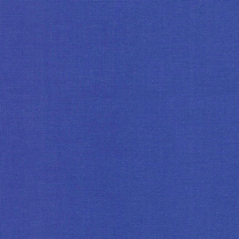 Tula Pink Designer Solids Sapphire Blue Plain Blender Coordinate Cotton Fab