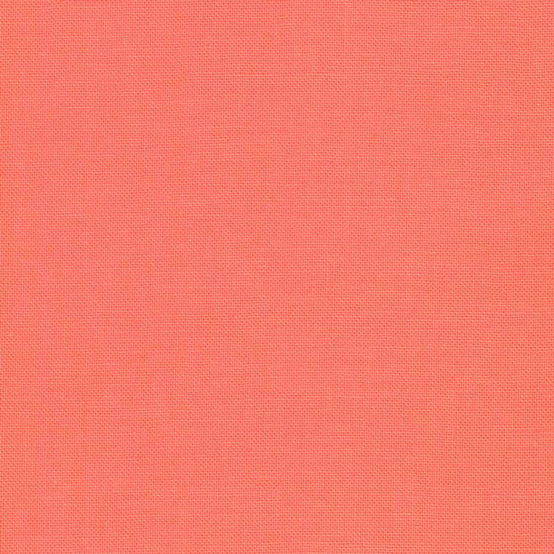 Tula Pink Designer Solids Persimmon Coral Peach Orange Plain Blender Coordi
