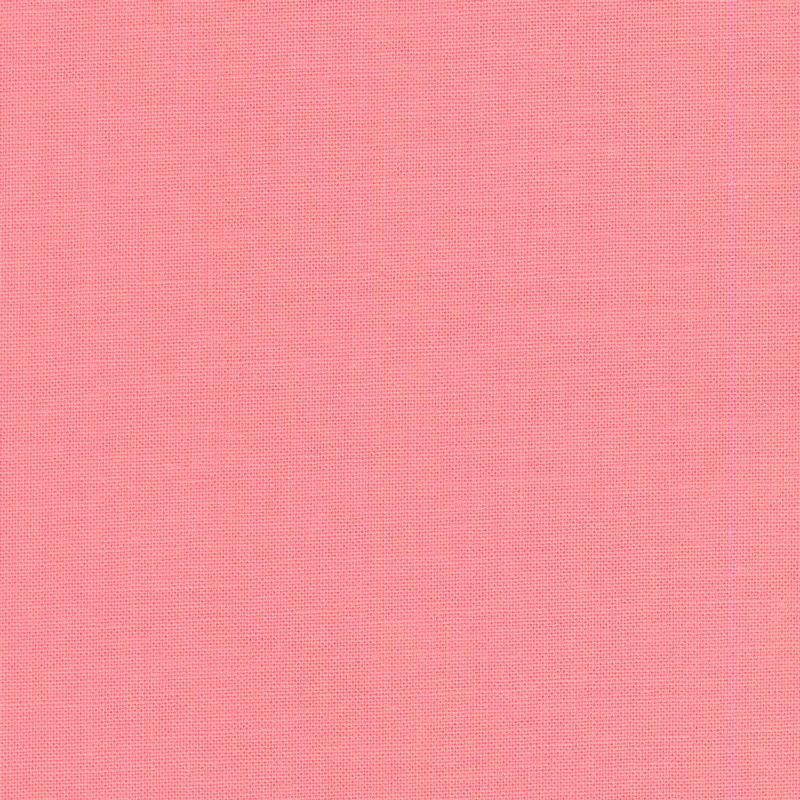 Tula Pink Designer Solids Taffy Pink Plain Blender Coordinate Cotton Fabric