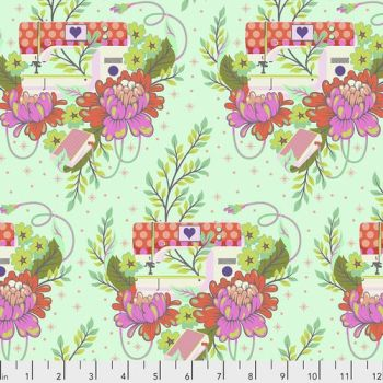 IN STOCK Tula Pink HomeMade Pedal to the Metal in Morning Cotton Fabric