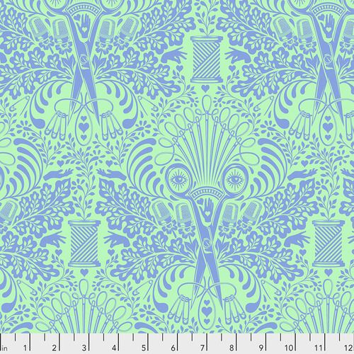 PRE-ORDER Tula Pink HomeMade Getting Snippy in Noon Cotton Fabric