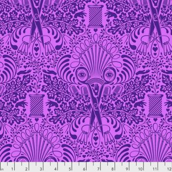 IN STOCK Tula Pink HomeMade Getting Snippy in Night Cotton Fabric