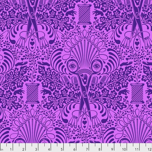PRE-ORDER Tula Pink HomeMade Getting Snippy in Night Cotton Fabric