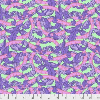 IN STOCK Tula Pink HomeMade Measure Twice in Night Cotton Fabric