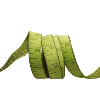 IN STOCK Tula Pink HomeMade Measure Twice in Morning Green Renaissance Ribbons per yard