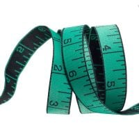 IN STOCK Tula Pink HomeMade Measure Twice in Noon Mint Renaissance Ribbons per yard