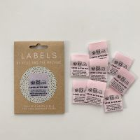 "Kylie and the Machine ""LOOK AFTER ME"" Woven Labels 8 Pack"
