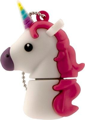 Tula Pink Hardware White Unicorn 16GB 16 Gigabyte USB Stick Flash Drive