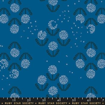 Darlings 2019 Puff Blue Raspberry Dandelion Ruby Star Society Cotton Fabric