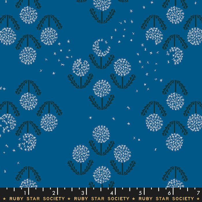 Darlings 2019 Puff Blue Raspberry Dandelion Ruby Star Society Cotton Fabric