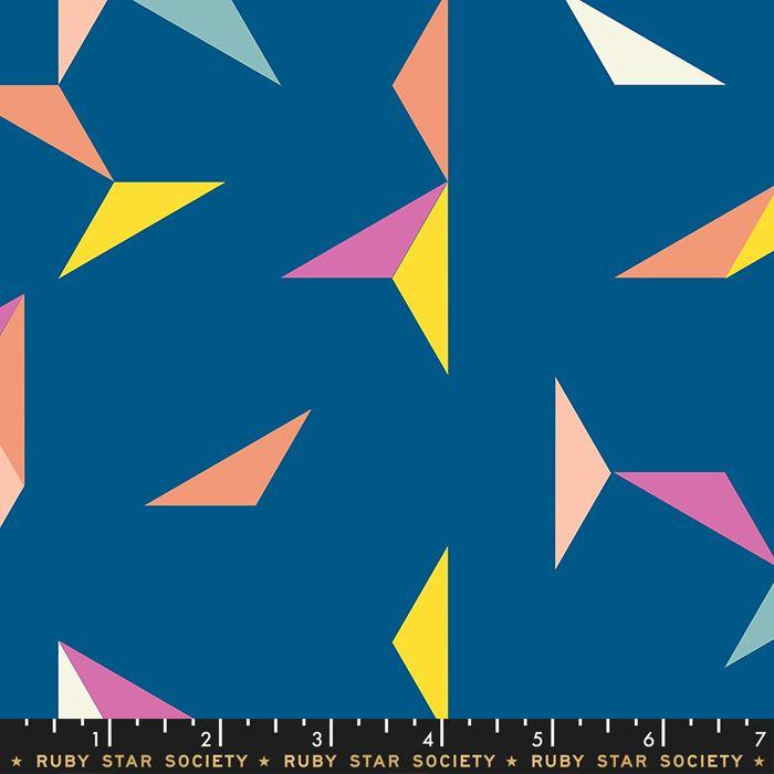 Darlings 2019 Tangrams Blue Raspberry Geometric Triangle Ruby Star Society