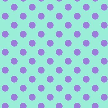 Tula Pink All Stars Pom Poms Petunia Spot Polkadot Geometric Blender Cotton Fabric