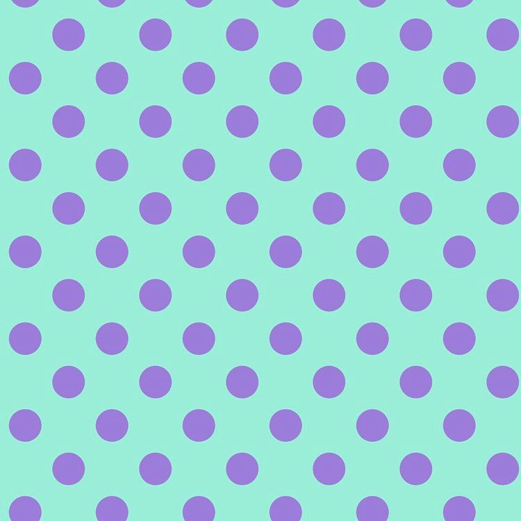 Tula Pink All Stars Pom Poms Petunia Spot Polkadot Geometric Blender Cotton