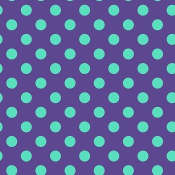 Tula Pink True Colors Pom Poms Iris Spot Polkadot Geometric Blender Cotton Fabric