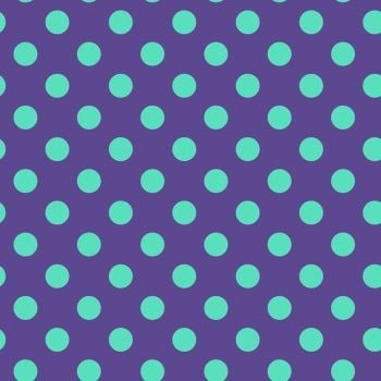 Tula Pink All Stars Pom Poms Iris Spot Polkadot Geometric Blender Cotton Fabric