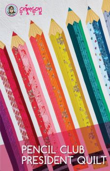 Pencil Club President Quilt Pattern by Heather Givans
