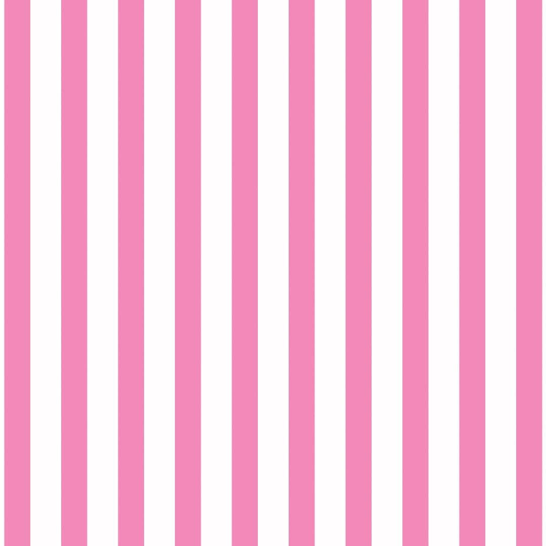 Great British Quilter Back to Basics Stripe Candy Pink and White Tent Strip