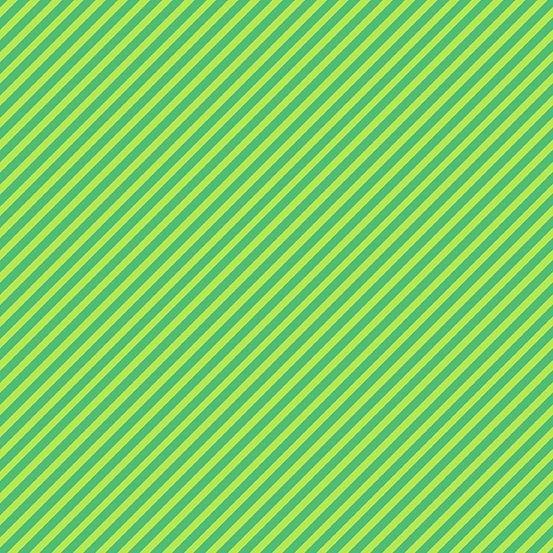 Sweet Shoppe Too Candy Stripe Kelly Green Bias Stripes Pinstripe Quilt Bind