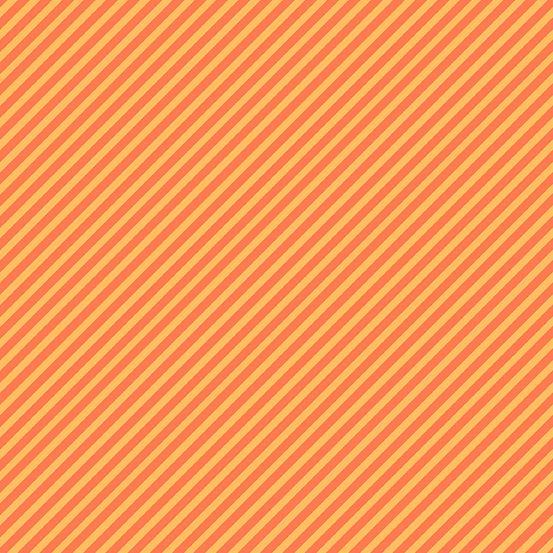Sweet Shoppe Too Candy Stripe Sherbert Orange Bias Stripes Pinstripe Quilt