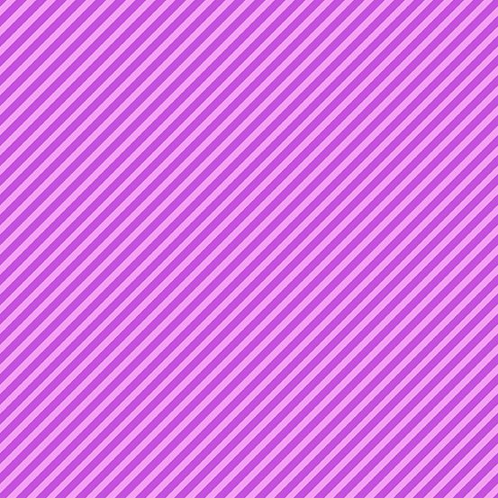 Sweet Shoppe Too Candy Stripe Grape Purple Bias Stripes Pinstripe Quilt Bin