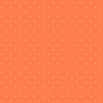 Sweet Shoppe Too Candy Dot Sherbert Orange Polkadot Spot Geometric Blender Cotton Fabric