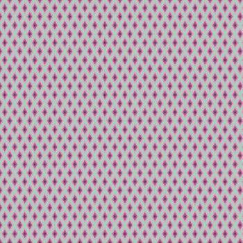 RARE Tula Pink Elizabeth Tudor Windows Plum Geometric Diamond Cotton Fabric