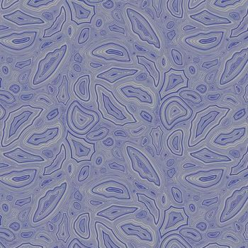 Tula Pink True Colors Mineral Sapphire Gem Crystal Cotton Fabric