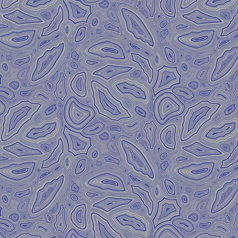 PRE-ORDER Tula Pink True Colors Mineral Sapphire Gem Crystal Cotton Fabric