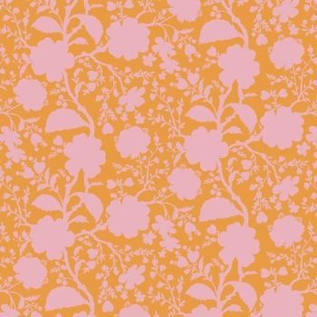 Tula Pink True Colors Wildflower Blossom Floral Botanical Cotton Fabric