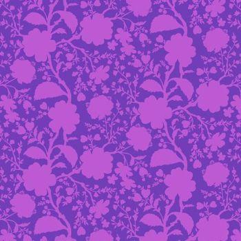 Tula Pink True Colors Wildflower Dahlia Floral Botanical Cotton Fabric